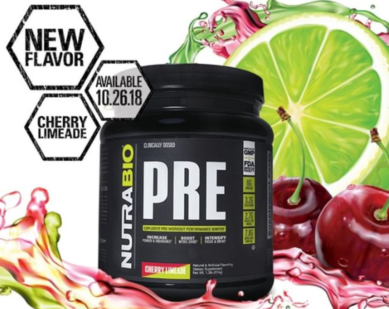 Nutrabio Pre Workout Cherry Limeade
