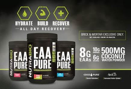Nutrabio EAA Pure Now In Stock