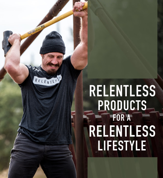 Tim Kennedy Relentless Supplements