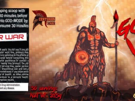 Centurion Labz God Of War Pre Workout Reformulated