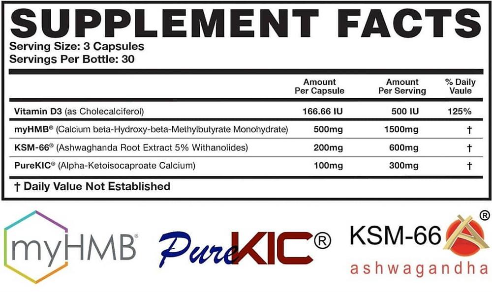 Magnum Hard Muscle Builder Ingredients