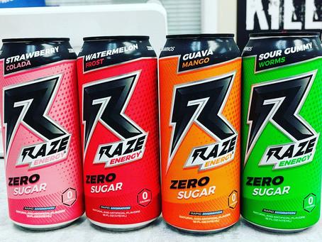 Raze Energy Drinks Now In Stock