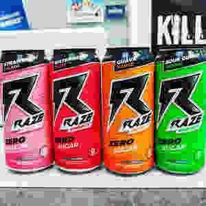 Raze Energy Drink Flavors