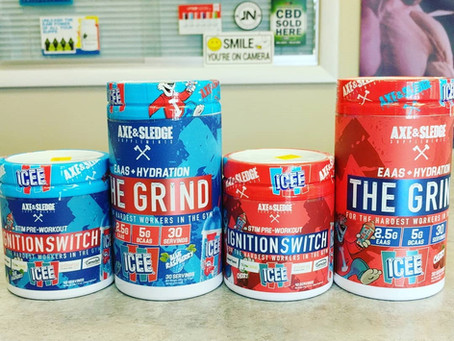Axe & Sledge New Icee Flavors Are Here!