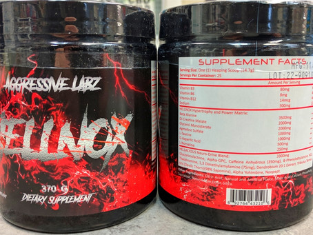 Hellnox pre Workout in stock!