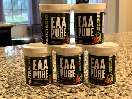 Nutrabio EAA Pure DragonFruit Candy Announced!