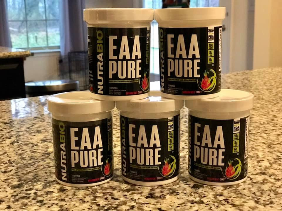 Nutrabio EAA Pure DragonFruit Candy