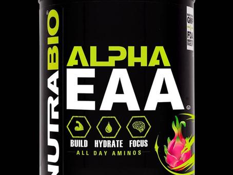 Nutrabio Alpha EAA Now in Stock!