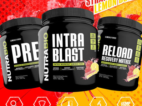 Nutrabio Strawberry Lemon Bomb is Here!