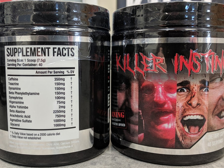 Killer Instinct Pre Workout Reformulated