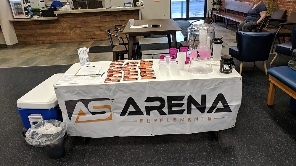 Arena Supplements at Elite Custom Fitness