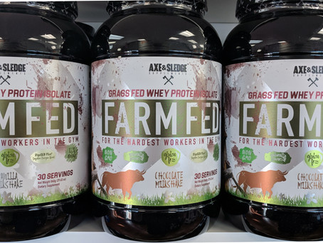 Axe & Sledge Farm Fed Protein is Here!