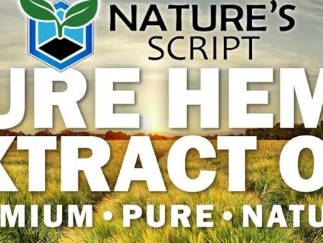 Nature's Script CBD Oil Products