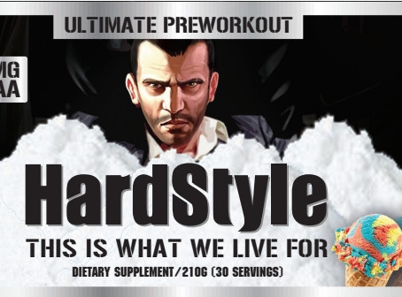 HardStyle Pre Workout In Stock!