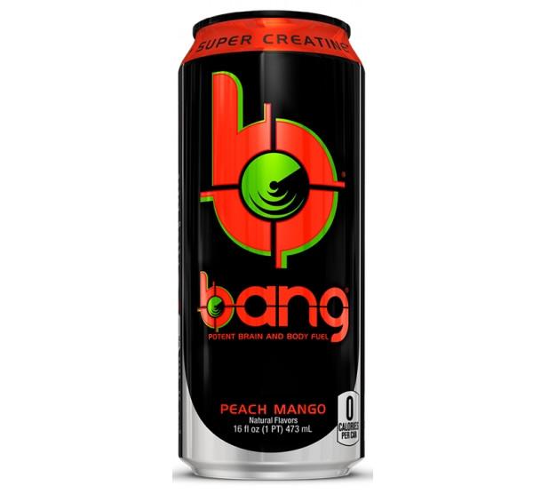 Bang New Flavor Peach Mango