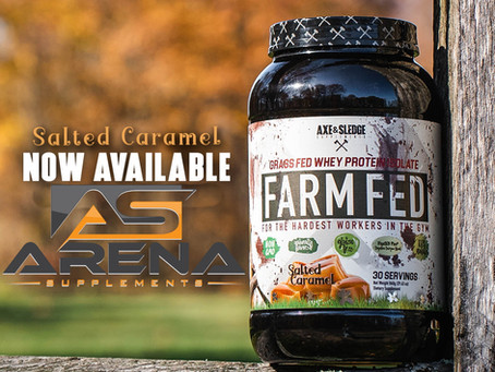 Farm Fed Salted Caramel now in stock!