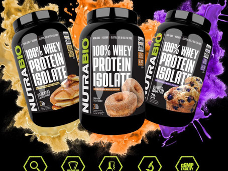 3 New Nutrabio Isolate Flavors Announced!