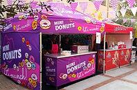Chip n Dip, Mini Donuts, Mini Doughnuts, Corporate Catering, Event Catering, School Catering, School Fete, School Fund Raiser, Purple Plate Catering