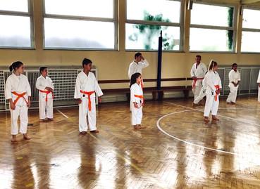Prüfung beim 1. KDO - Karate Kids starten wieder voll durch