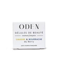 Gélules de Beauté Onagre et Bourrache - ODEN