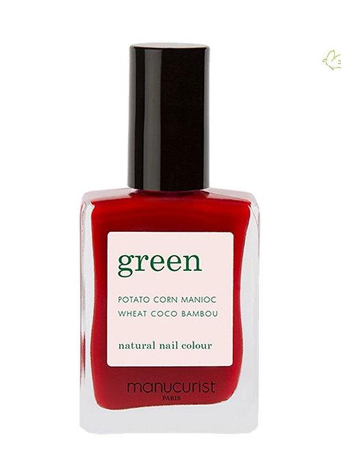 Vernis Red Cherry GREEN - Manucurist