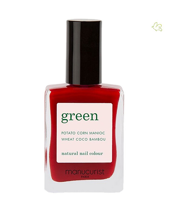 Vernis Red Cherry GREEN - Manucurist