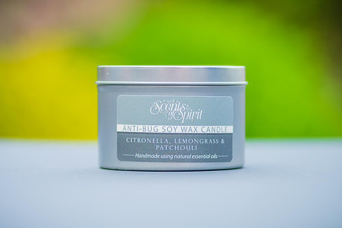 Anti-bug citronella soy wax candle