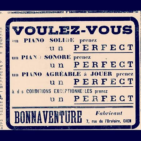 Pub journal piano caen bonnaventure pianos