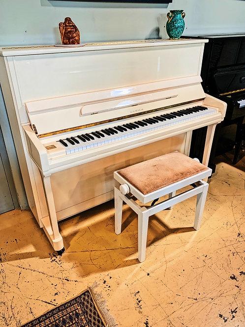 Occasion Piano Droit marque Samick Modele JS121 Finition crème caen Bonnaventure