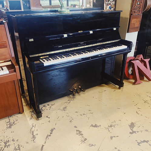 occasion piano Samick su118r face noir Caen Bonnaventure pianos