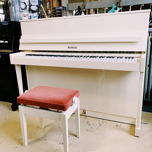 Piano Rameau Blanc 43025 Bonnaventure Caen Face ouvert