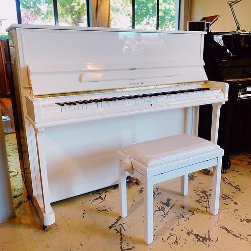 piano caen occasion samick 118 blanc bonnaventure pianos