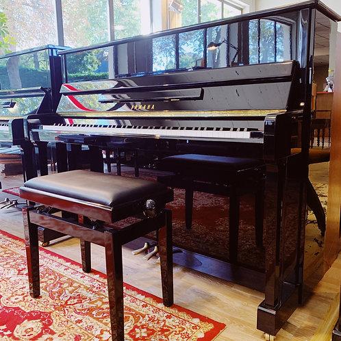Piano Occasion Caen Yamaha P116 BK Face ouvert