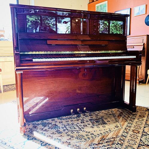 Piano Pleyel P131 acajou brillant face caen bonnaventure