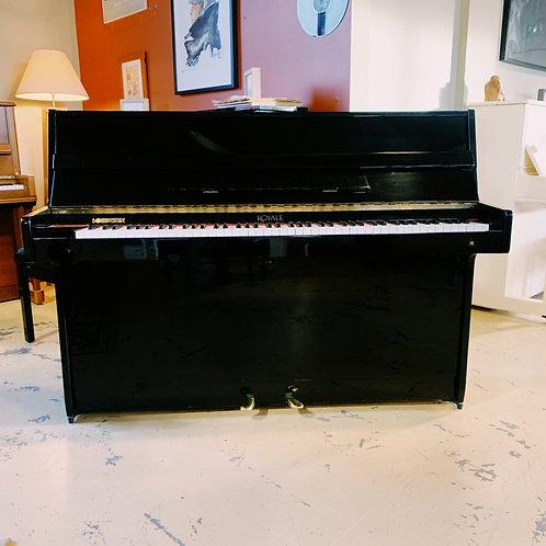 Piano d'occasion Royale DS-4 noir Bonnaventure Caen Face ouvert