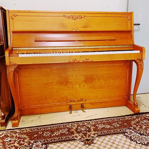 Piano Sauter 118R2 Merisier Occasion Caen Bonnaventure Face