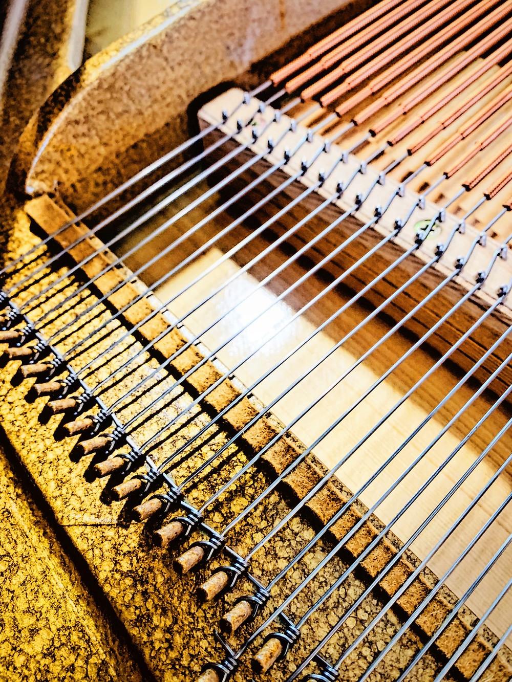 Bouclette Allemande corde piano droit