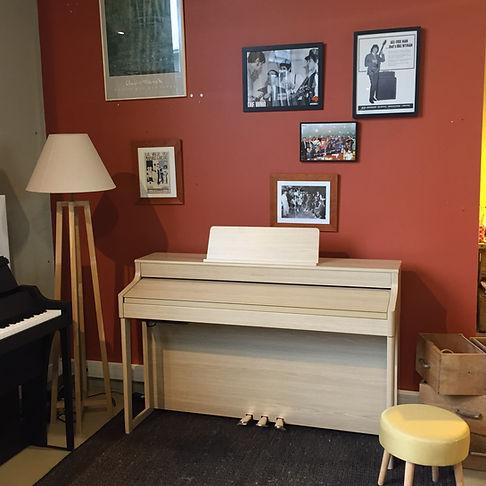 Location piano longue durée caen Bonnaventure piano numérique roland hp502 avr19