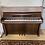 Piano Rameau modèle Chenonceau finition noyer satin vue de face