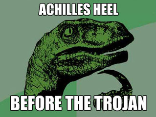 Achilles tendinopathy -only 'YOU' can fix it.