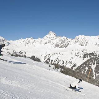 Skifahren im Montafon (c) Alex Kaiser -