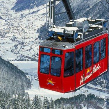 Skisafari mit der Vermuntbahn