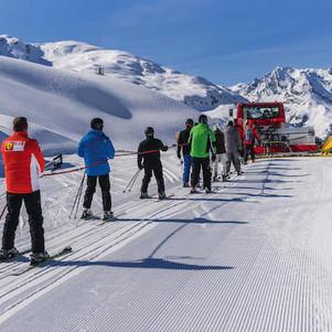 Skisafari auf der Bielerhöhe