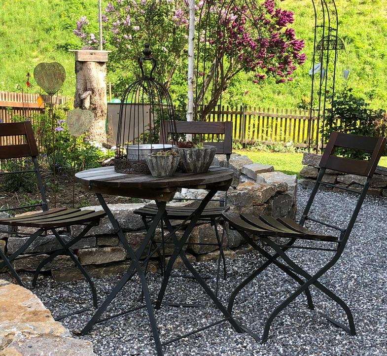 Garten im Haus Berta