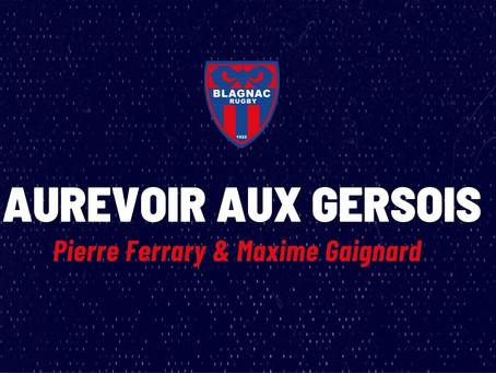 Aurevoir aux Gersois : Pierre Ferrary & Maxime Gaignard