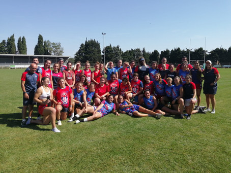 Blagnac Rugby Féminin : Résumé du stage à Vendres