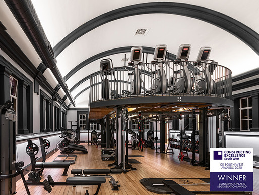 LUXE Fitness wins prestigious Constructing Excellence Award
