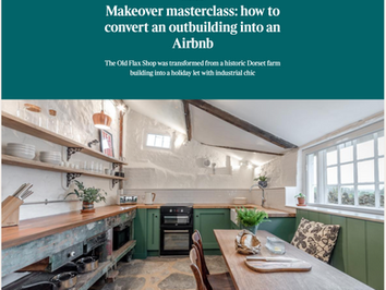 Makeover Masterclass: How to convert an outbuilding into an AirBnb