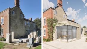 On Site: A Contemporary Addition to a Georgian Farmhouse