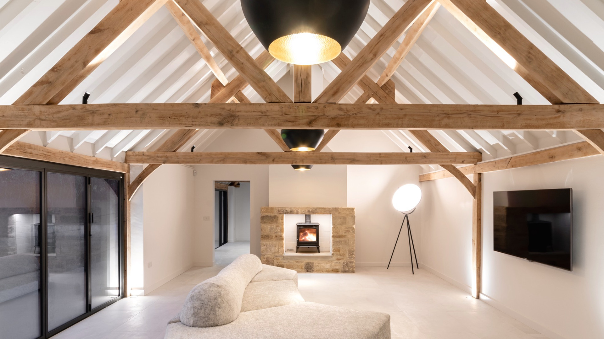 Cotswolds Retreat - Party Barn Interior